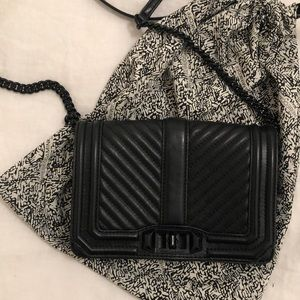 Rebecca Minkoff Chevron Quilted Small Crossbody